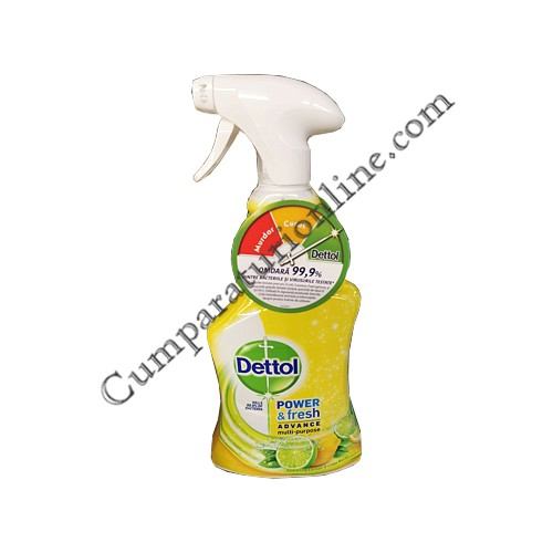 Detergent dezinfectant multisuprafete Dettol 500 ml. Lemon