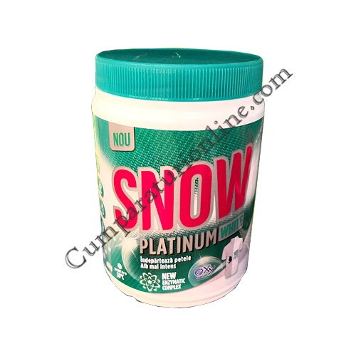 Pudra indepartare pete Snow Platinum 400 gr.