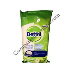 Servetele umede dezinfectante suprafete multiple Dettol 40 buc. Apple