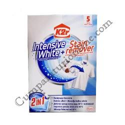 Aditiv pentru spalare K2r Intensive WhiteStain Remover 5 spalari