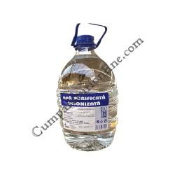 Apa purificata deionizata Farmec 5 l.