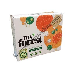 Detergent automat ecologic My Forest rufe albe si colorate 1,2 kg 20 spalari