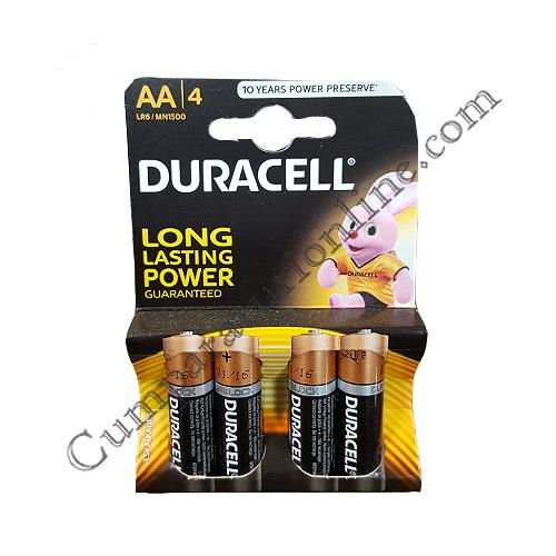Baterii alkaline Duracell Basic LR6 AA 4 buc./set pret/buc.