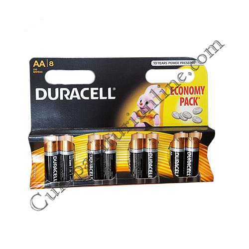 Baterii alkaline Duracell Basic LR6 AA 8 buc./set pret/buc.