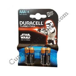 Baterii alkaline Duracell Turbo Max LR3 AAA 4 buc./set pret/buc.