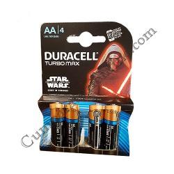 Baterii alkaline Duracell Turbo Max LR6 AA 4 buc./set pret/buc.