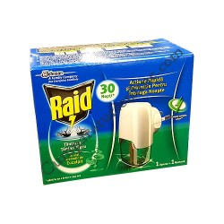 Aparat electric Raid tantari cu eucalipt 21 ml.