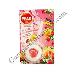 Aparat WC Peak Floare de curatare 45 gr. mix fructe de padure
