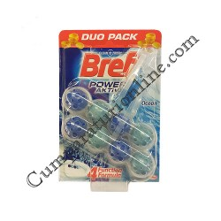 Odorizant WC Bref Power Action Ocean Breeze 2x50 gr.