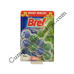 Odorizant WC Bref Power Aktiv Fresh Pine 2x50 gr.