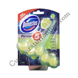 Odorizant WC Domestos Rim Block Power5 55 gr. Lime