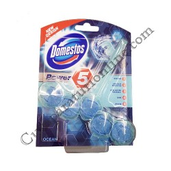 Odorizant WC Domestos Rim Block Power5 55 gr. Ocean