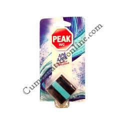 Tablete bazin WC Peak Apa azur marin 1x50 gr.