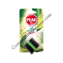 Tablete bazin WC Peak Apa smarald pin 1x50 gr.