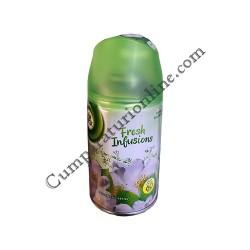 Rezerva odorizant Airwick Freshmatic Fresh Infusions Floral Delight 250 ml.