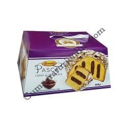 Pasca Boromir cu crema de ciocolata 500 gr.