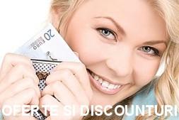 Beneficiati de oferte speciale saptamanale si discounturi apeland la casa de comenzi online Bucuresti CumparaturiOnline.com