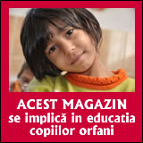 Acest magazin se implica in educatia copiilor orfani